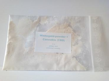 Whitegold-powder + Cannabis 10 Gramm